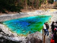 Five-Color Pool in Jiuzhaigou