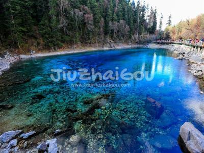 Five Colored Pond Jiuzhaigou