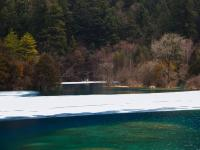 January in Jiuzhaigou National Park