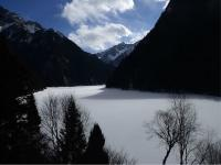 Jiuzhaigou National Park in January