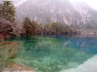 Jiuzhaigou in January