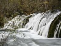 Shuzheng Waterfalls in Jiuzhaigou Valley